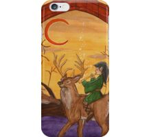 Enchanted Sorceror Child, Merlin iPhone Case/Skin