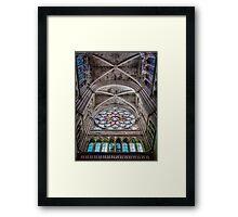 leaving Saint Vincent de Paul Framed Print