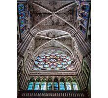 leaving Saint Vincent de Paul Photographic Print