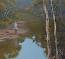 """Solitude"" Oil Painting (best view large) by Alison Murphy"
