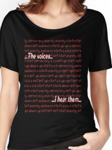 Twitch Plays Pokemon: The Voices, I Hear Them Women's Relaxed Fit T-Shirt