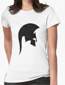 Sparta Black Womens Fitted T-Shirt