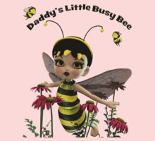 Daddy's Little Busy Bee Baby Tee