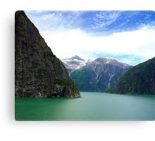 Alaska Fjords  Canvas Print
