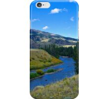 As The River Flows iPhone Case/Skin
