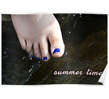 Sweet Sweet Summer Time Poster