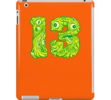 ugly 13 iPad Case/Skin