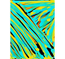 Bamboo Abstract Photographic Print