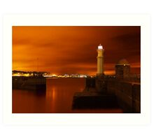 Newhaven Lighthouse Art Print