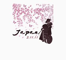 Japan Earthquake Tsunami Relief Cherry Blossoms Unisex T-Shirt