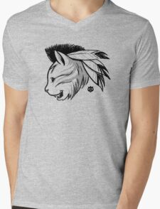 Last of the Meowhicans Mens V-Neck T-Shirt