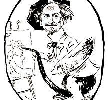 Jules Alexandre Grün Portrait de Léon Charles Huber by wetdryvac
