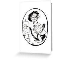 Jules Alexandre Grün Portrait de Léon Charles Huber Greeting Card