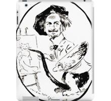 Jules Alexandre Grün Portrait de Léon Charles Huber iPad Case/Skin