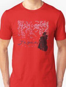 Japan Earthquake Tsunami Relief Cherry Blossoms Dark T-Shirt T-Shirt