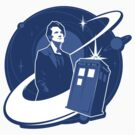 Doctor Who: The Eleventh Doctor Sticker by ameba2k