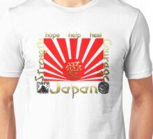 Japan Earthquake Tsunami Relief Rising Sun T-Shirt Unisex T-Shirt