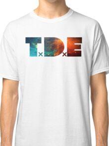 TDE TOP DAWG BLUE AND ORANGE NEBULA Classic T-Shirt