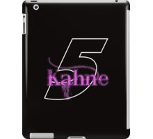 Pink Kahne for Dark Backgrounds iPad Case/Skin