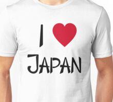 I Love Japan T-Shirt Unisex T-Shirt