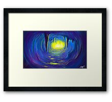 Allegory of the cave Framed Print