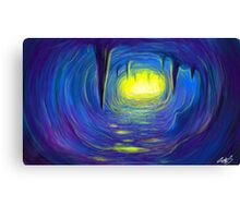 Allegory of the cave Canvas Print