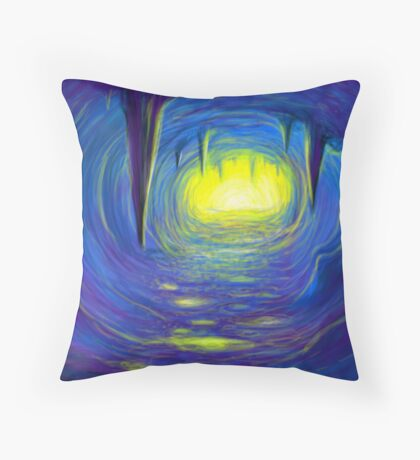 Allegory of the cave Throw Pillow