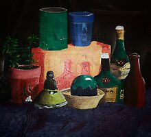 THERES STILL LIFE by Derek Holliday