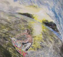 Surf Sunset by Jennifer Ingram