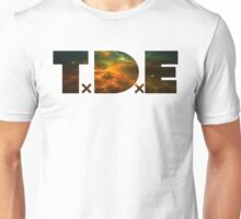 TDE TOP DAWG ORANGE GOLD GREEN BLUE NEBULA DARK Unisex T-Shirt