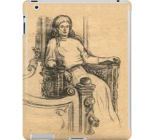 Evening in the old house iPad Case/Skin
