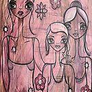 A FAMILY PORTRAIT by Barbara Cannon  ART.. AKA Barbieville