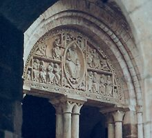 Door through the portal by robigeehk