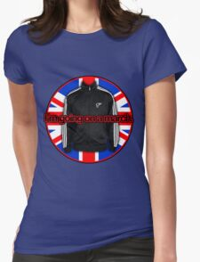 I'm going on a march - UK Flag Womens Fitted T-Shirt