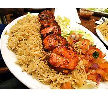 Zesty Chicken Tikka - At Bamiyan Kabab  Photographic Print
