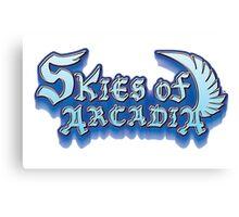 Skies Of Arcadia Canvas Print