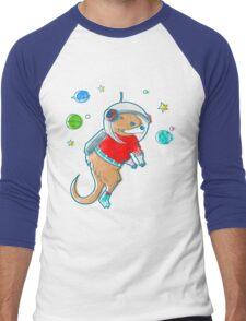 Otter Space  Men's Baseball ¾ T-Shirt