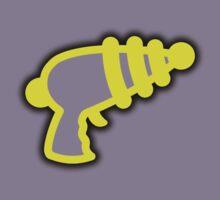 Yellow 'Muslamic Ray Gun' by alexvegas