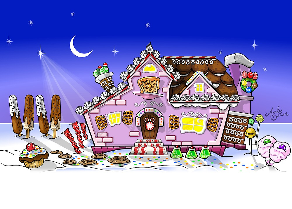 Candy House by Andy Bauer
