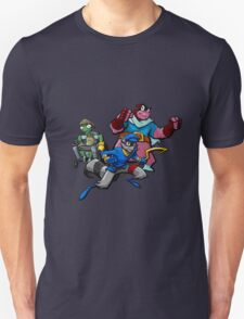Sly Cooper, Murry and Bentley taking on the world! T-Shirt