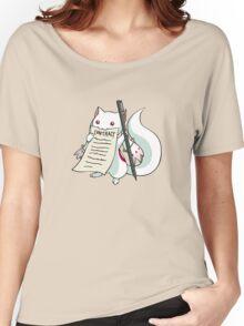 Kyubey - Puella Magi Madoka Magica Women's Relaxed Fit T-Shirt