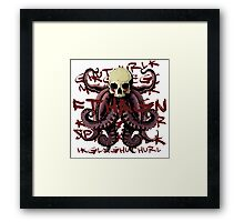 Creeping Paranoia Framed Print