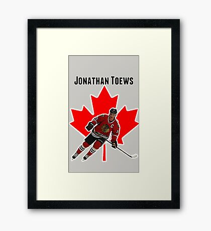 Jonathan Toews Framed Print