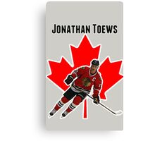 Jonathan Toews Canvas Print