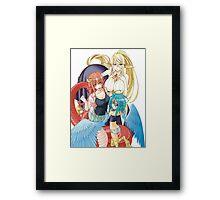 Mia, Papi and Cerea Framed Print