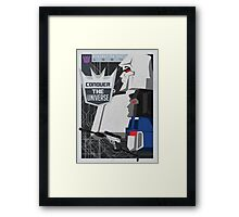 Conquer Framed Print