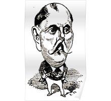 Georges Lafosse Xavier de Montépin Poster