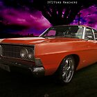 1972 Ford Ranchero-Render by Khrome Photography