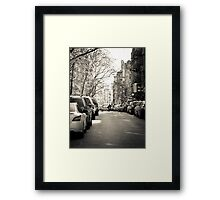 Lower east side Framed Print
