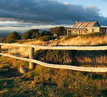Craig's Hut Autumn Sunset, Australia by Michael Boniwell